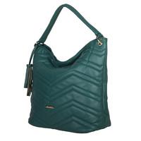 Hobo Shoulder bag Calanthe (emerald green)