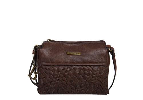 Crossbody bag Bryon (dark brown)