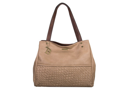 Shopping bag Bryon (khaki)