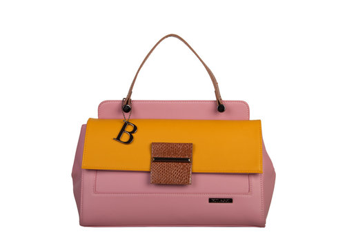 Handbag Abby (dusty pink)