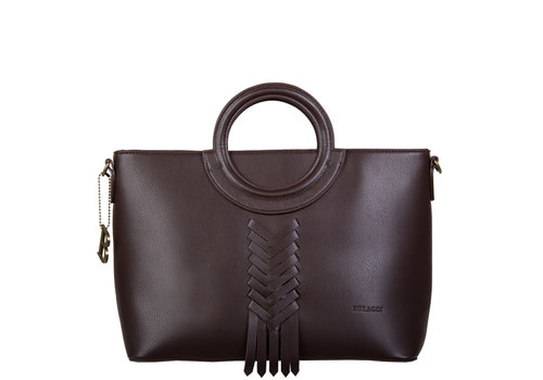 Handbag Briar (dark brown)