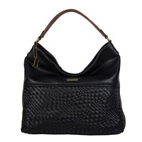 Hobo Shoulder bag Bryon (black)
