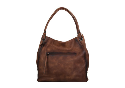 Shopping bag Lotus (brown)