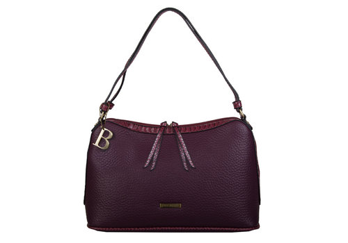 Shoulder bag Senna (burgundy red)