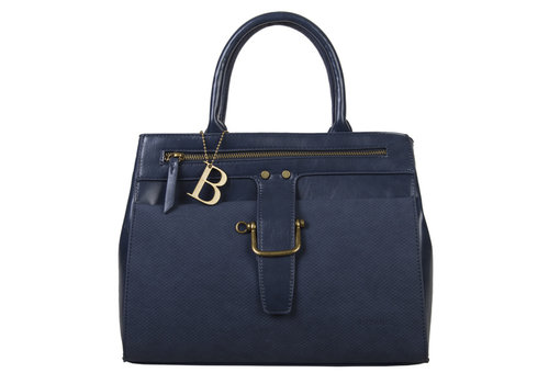 Handbag Dahlia (dark blue )