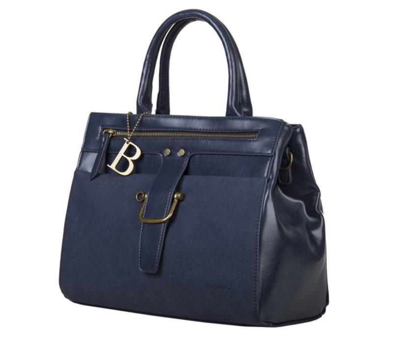 Handbag Dahlia (dark blue )
