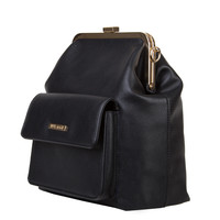 Crossbody bag Tulip (black)