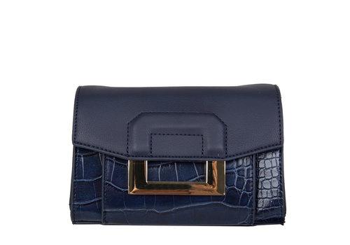 Crossbody bag / hip pouch Cynthia (dark blue )