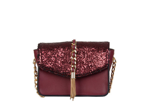 Crossbody bag Calla (burgundy red)