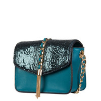 Crossbody bag Calla (emerald green)