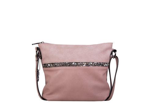 Crossbody tas Zinnia (oud roze)