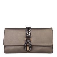 Clutch bag Bibis (pewter)