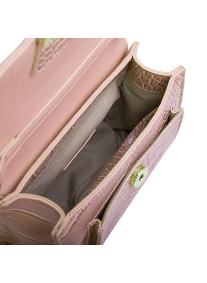 Crossbody bag / hip pouch Cynthia (dusty pink)