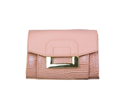 Crossbody bag / hip pouch Cynthia (dusty pink)