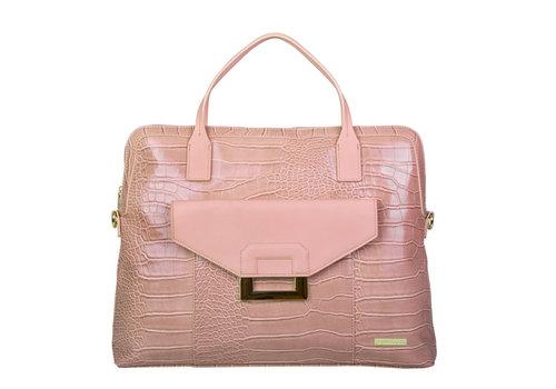 Laptoptas Cynthia (oud roze)