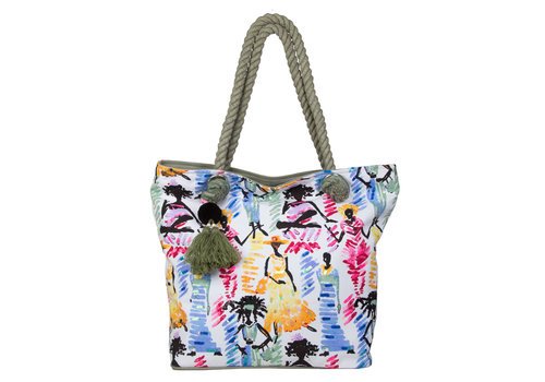 Beach bag Ariel (green)