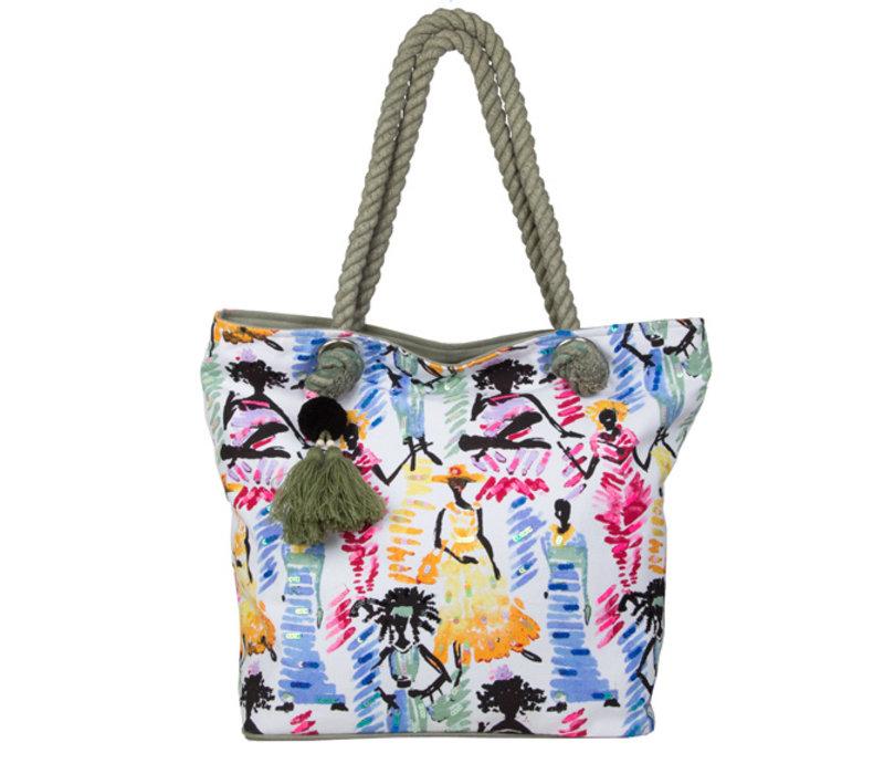 Beach bag Ariel (green)