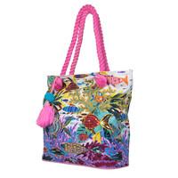 Beach bag  Ariel (fuchsia)