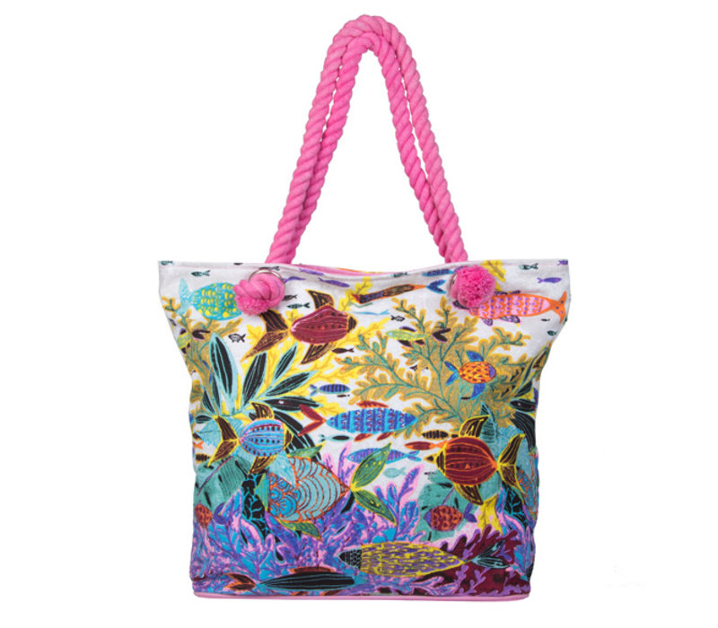 Shopper Ariel (fuchsia)
