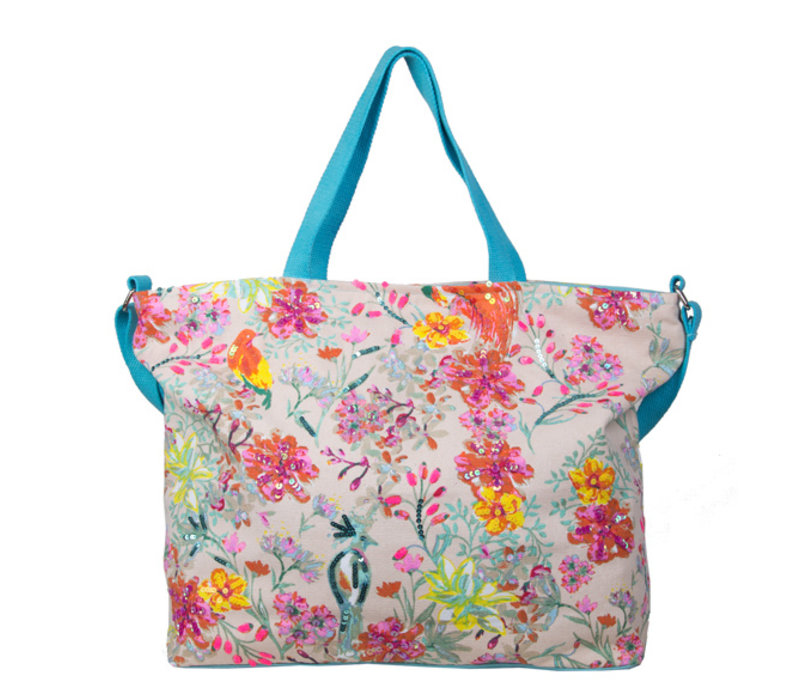 Shopping bag Bess (turquoise)