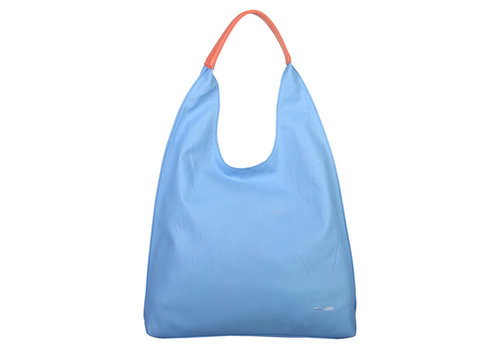 Shopping bag Gwen (pastel blue)