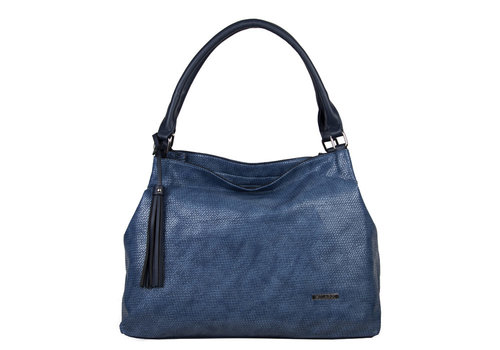 Hobo shoulder bag Mila (blue)