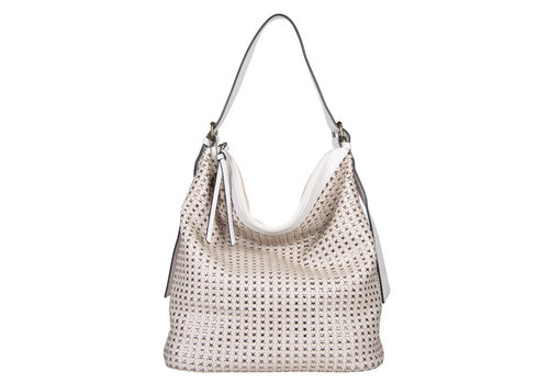 Hobo shoulderbag Buffy (bone)