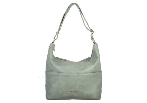 Hobo shoulder bag Puff (mint)