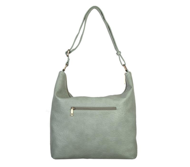 Hobo shoulder bag Puff (mint)