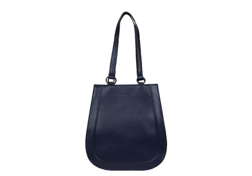 Shopping bag Kayla (dark blue )