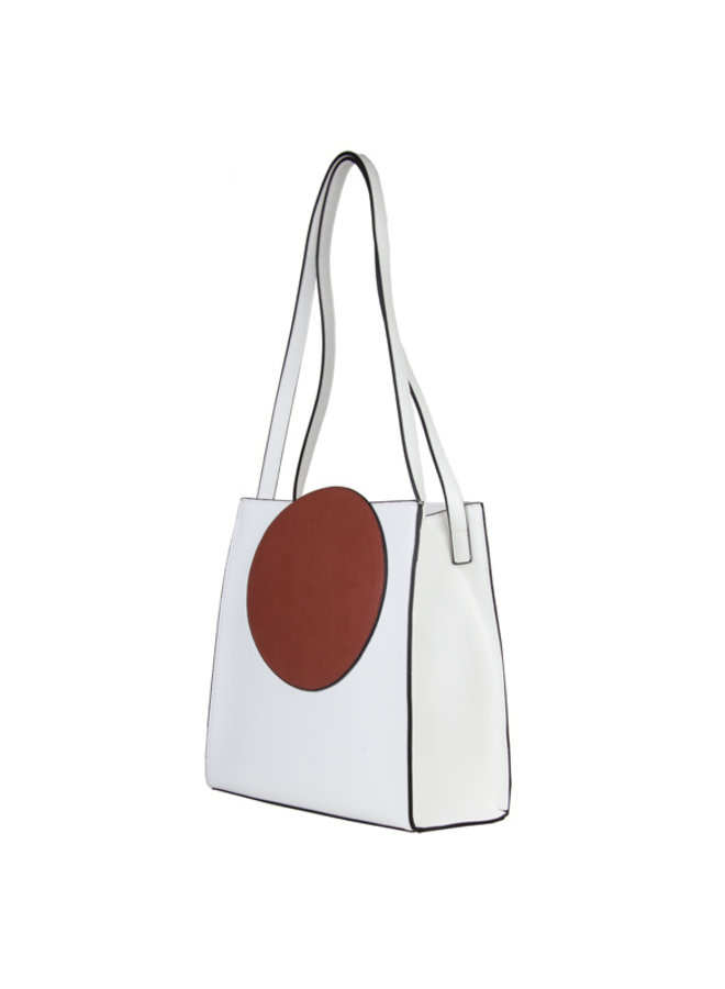Shopping bag Coco (white)