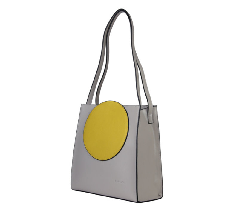 Shopping bag Coco (khaki)