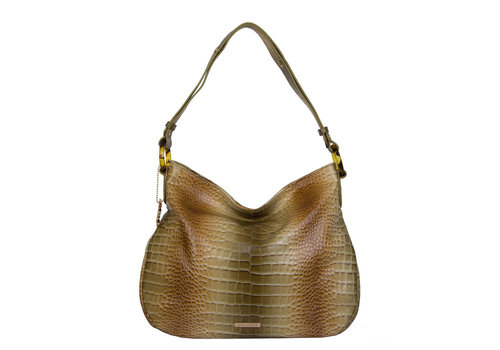 Hobo shoulder bag Nina (green)
