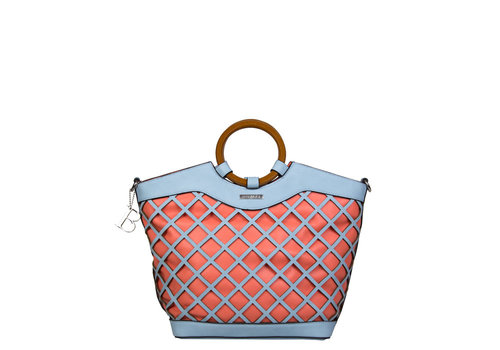 Shopper Frannie (pastelblauw)