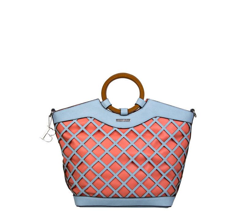 Shopper Frannie (pastelblauw)