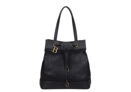 Shopping bag Buffy (black)
