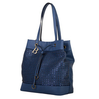 Shopping bag Buffy (blue)