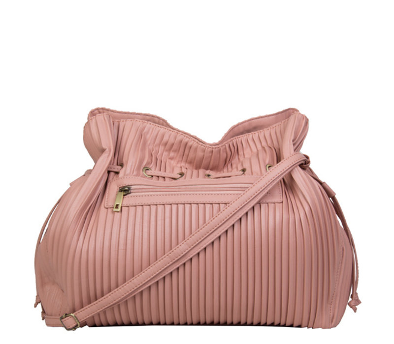 Crossbody bag Pleaty (dusty pink)