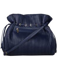Crossbody bag Pleaty (dark blue )