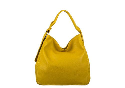Hobo shoulderbag Deb (dark yellow)