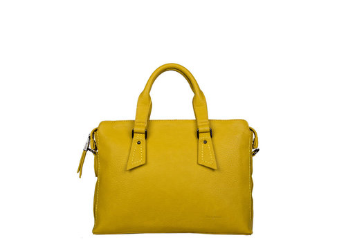 Laptop bag Deb (dark yellow)