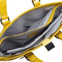 Laptop bag Deb (dark yellow)