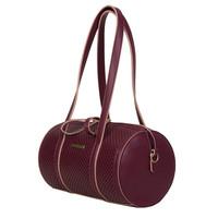 Bun handbag Penny (burgundy)