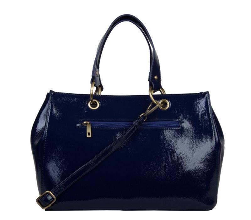 Shopping bag Lily (dark blue )