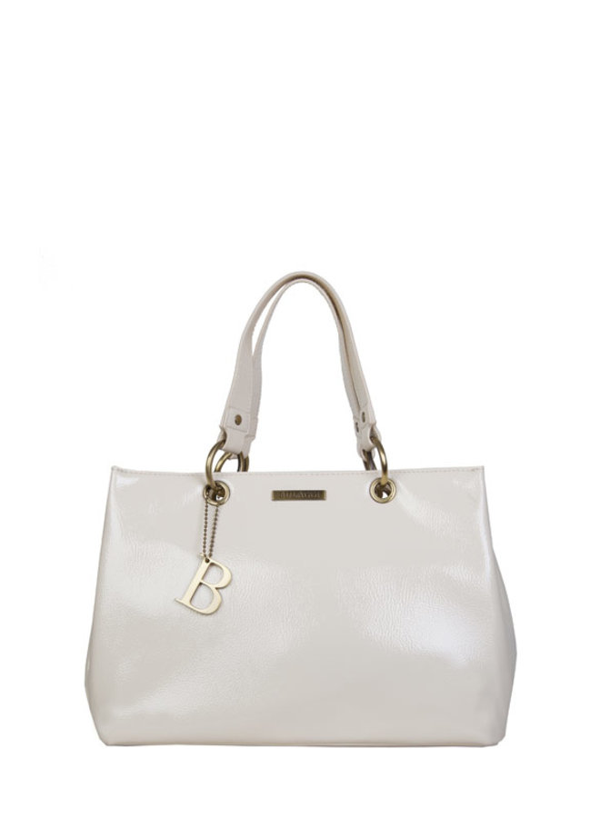 Shopping bag Lily (bone)