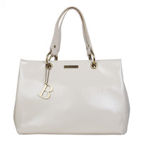 Shopping bag Lily (bone)
