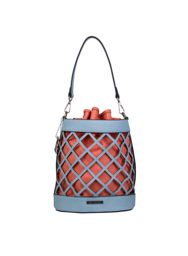 Handtas Frannie (pastelblauw)
