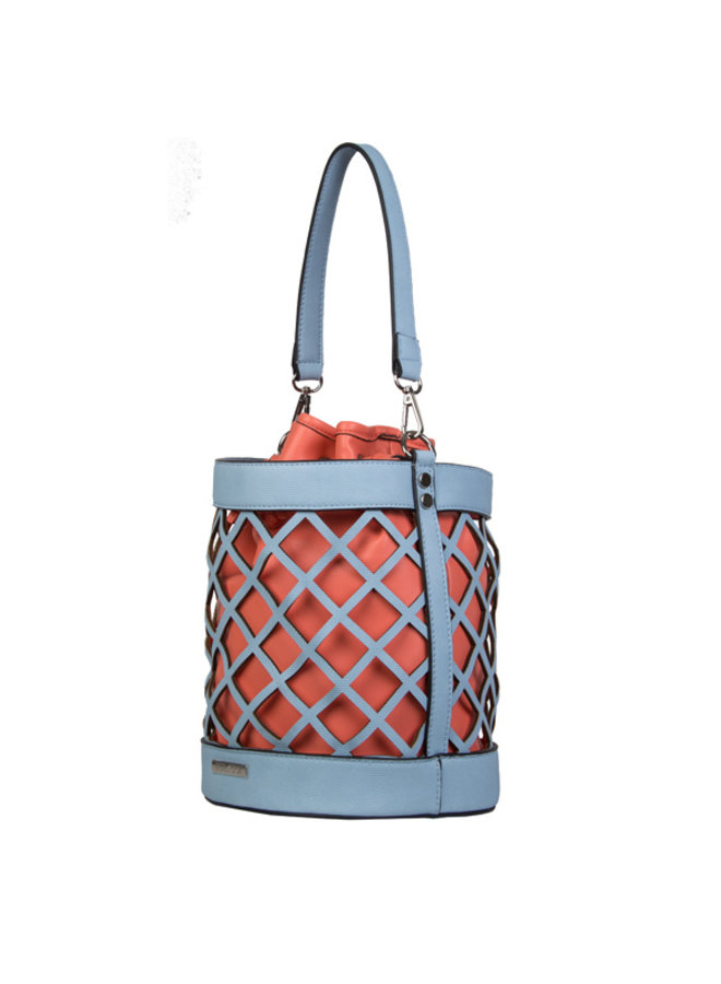 Bucket bag Frannie (pastel blue)