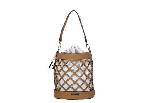 Bucket bag Frannie (camel)
