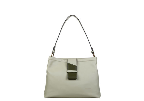 Hobo shoulder bag Goldie (light green)